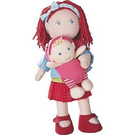 Puppe Rubina mit Baby