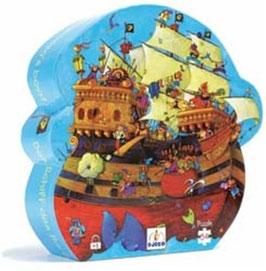Puzzle Barbarossas Boot - 54 Teile