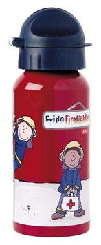 Trinkflasche Frido Firefighter / Feuerwehrmann - 400ml