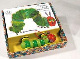 Die kleine Raupe Nimmersatt. Pappbilderbuch und Holzspielzeug