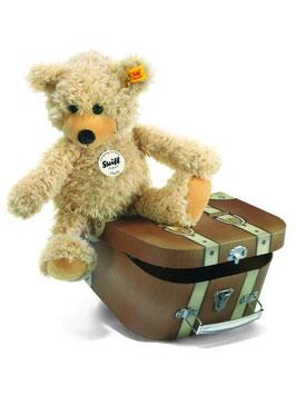 Charly Schlenkerteddy - 30cm beige im Koffer