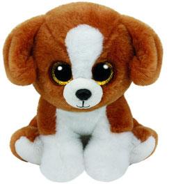 Snicky - Hund mit Glitzeraugen - Beanie Classic 33 cm
