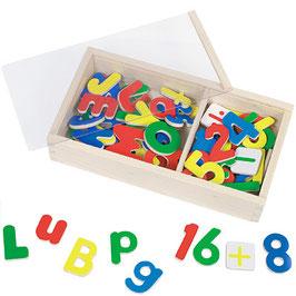 Magnet Zahlen und Alphabet 89 teilig