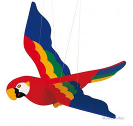 Schwingtier - Papagei
