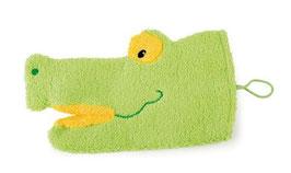 Krokodil Waschlappen
