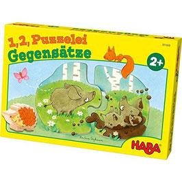 1,2, Puzzelei - Gegensätze Puzzle