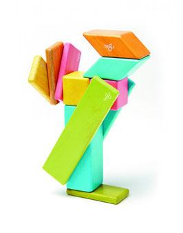 Holzset farbig14-teilig -Magnetische Holzbausteine