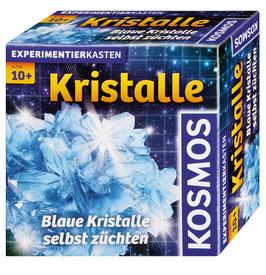 Kristalle blau