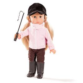 Just Like Me - MIA Reiterin - 27 cm Puppe mit Schlafaugen