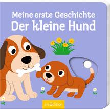 Der kleine Hund - Pappenbilderbuch  - erste Geschichte