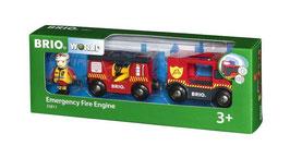 Feuerwehr-Leiterfahrzeug mit Licht und Sound / Emergency