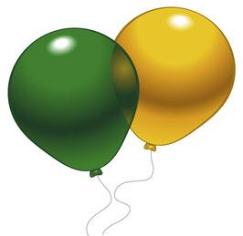 10  Metallic Ballon