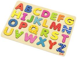 ABC Holzpuzzle Alphabetpuzzle