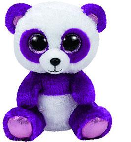 Boom Boom Panda-  violett weiss 15cm