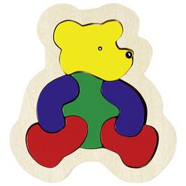 Bär-  Einlegepuzzle