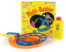 Pustefix Multi Bubbler Seifenblasen-Set Ring  + Teller