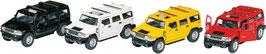 Auto mit Rückzug 12,5 cm  - Hummer H2 SUV