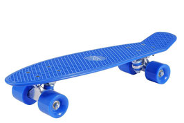 Skateboard retro sky blue