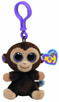 Coconut Affe Clip - Schlüsselanhänger Plüschtier