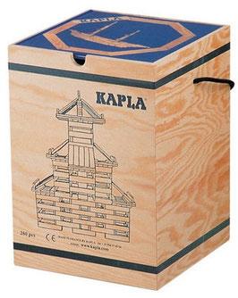 Kapla Holzkasten 280-teilig mit Buch