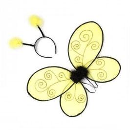 Bienenflügel und Haarreif