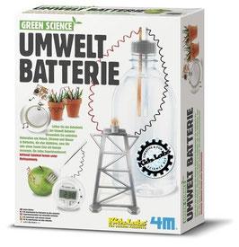 Umweltbatterie - Green Science