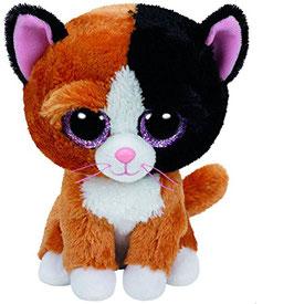 Tauri Katze Schwarz - braun 15 cm