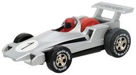 Formel 1 Rennauto silber