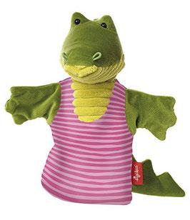 Handpuppe  - Krokodil Sweety