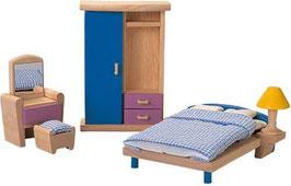 Schlafzimmer - Puppenhaus Einrichtung
