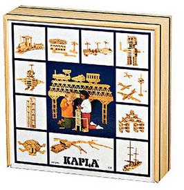 Kapla Holzbox - 100 Stück Holzbausteine