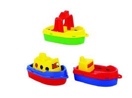 Boote im Netz 3er