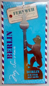 Fernweh Lesezeichen  - Berlin,  ich steh auf dich