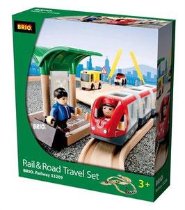 Reisezug Set Straßen und Schienen - 33209