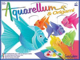 Aquarellum und Origami
