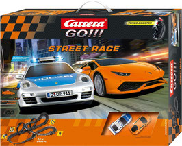 Go  Street Race - Modell Rennbahn