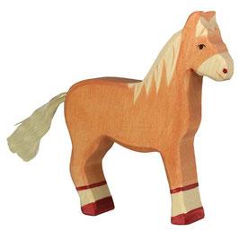 Pferd - hellbraun, stehend