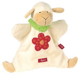 Handpuppe - Schaf Schnuffeltuch