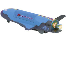 Space Shuttle mit Geräuch und Licht