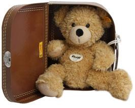 Teddybär - Fynn 28 beige im Koffer