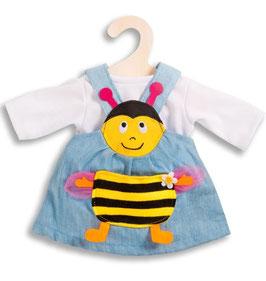 Bienenkleid für Puppe gr. 28-35cm