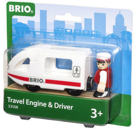 Reisezug mit Fahrer