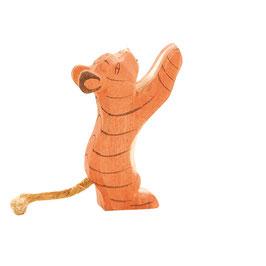 Tiger - klein spielend