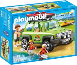 Camp-Geländewagen