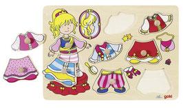 Steckpuzzle - Anziehpuppe Prinzessin