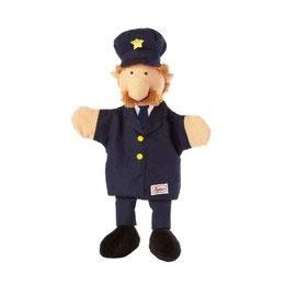 Polizist Handpuppe