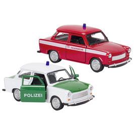 Trabant - Polizei oder Feuerwehr