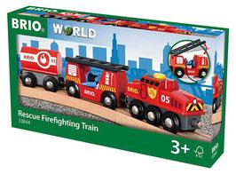Feuerwehr-Löschzug - Rescue Firefighting Train