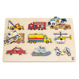 Steckpuzzle Rettungsfahrzeuge