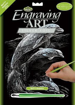 Scratch Kratzbild - Delfine
